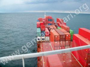 Denizlerde En Sık Karşılaşılan Gemi Türleri, Container Ship