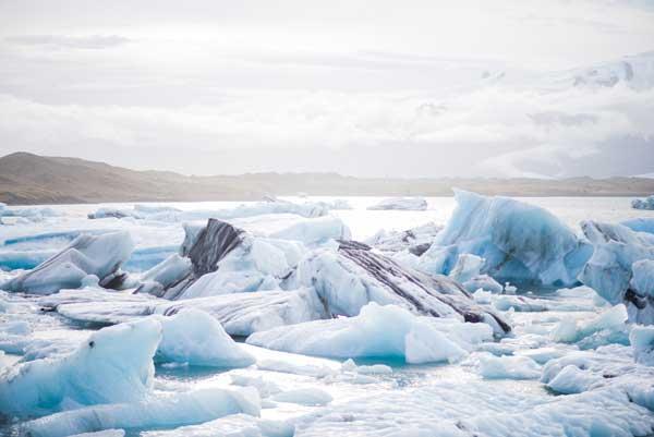 Antarktika'da Mikro Plastikler Bulundu