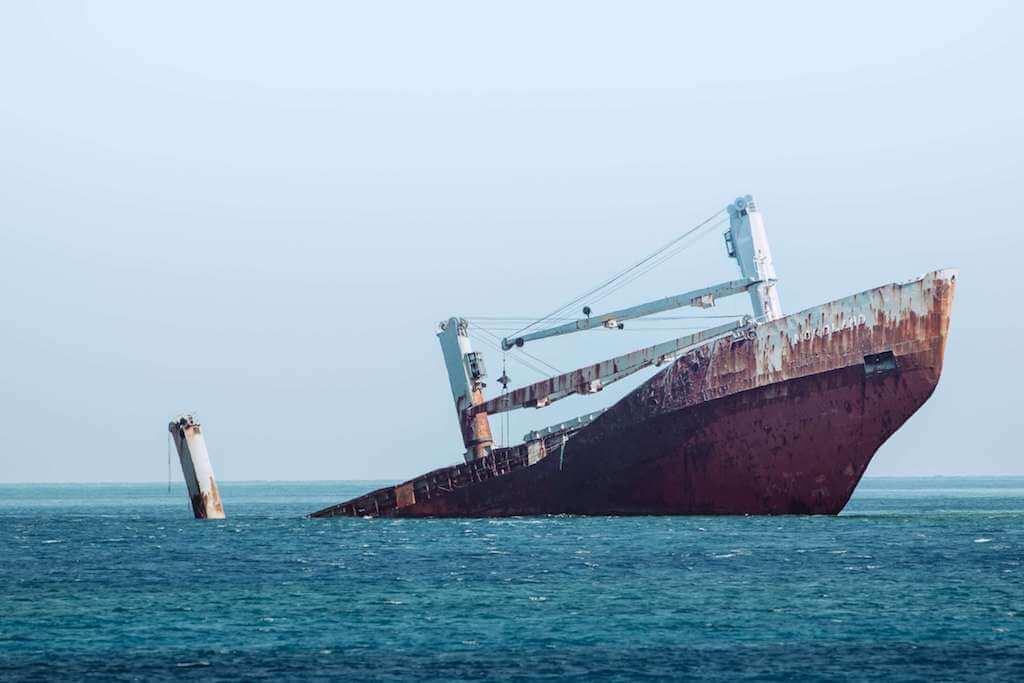 Müşterek Avarya & York Anvers Kuralları, Suudi Arabistan Açıklarındaki İran Tankerinde Patlama