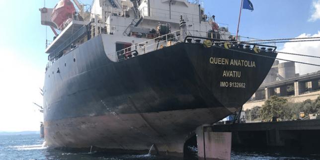 İzmit Körfezi'ni Kirleten Gemiye Ceza, Queen Anatolia