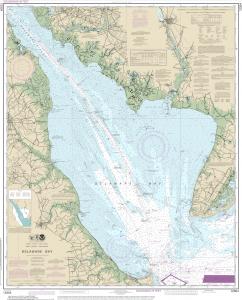 Delaware-Bay-Marcator-Projection-Nautical-Navigation-Chart-Harita-Projeksiyon-sistemleri