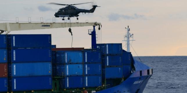 Türk Gemisine Hukuk Dışı Arama Roseline-A Arkas Denizcilik